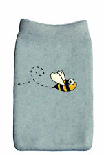 Bee Mobile Phone Sock Polyester, Universal case cover pouch 11cm x 7cm