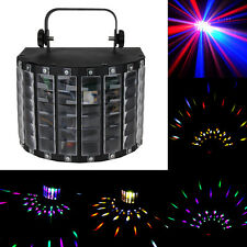 Sound Active DMX LED Stage Lighting Laser Projector RGBWY DJ Disco Strobe Light