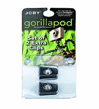 JOBY Original Clip 2 Units Quick Release Plates for Gorillapod Original/Magnetic