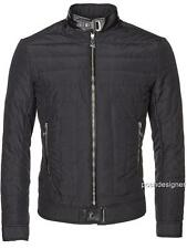 VERSACE Collection Black Padded Jacket Coat IT56 XXL, RRP895GBP