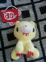 Mori Chack Gloomy Bear Plush Sitting Keychain Doll Figure Yellow Blood NWT