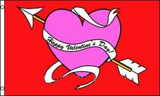3x5 Happy Valentine's Valentines Day Flag 3'x5' Banner Brass Grommets