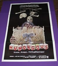 HUMONGOUS MOVIE POSTER ORIG 1 SH JANET JULIAN DAVID WALLACE