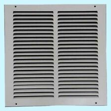 Air Return Vent Cover Grille 10 x 10 White Steel Wall Ceiling Sidewall Duct NEW!