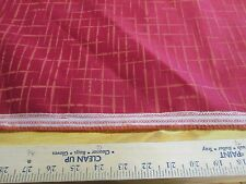 "1 YD X 54"" OF LUNA TEXTILES UPHOLSTERY FABRIC ""HATCH TOO"" COLOR MACINTOSH"
