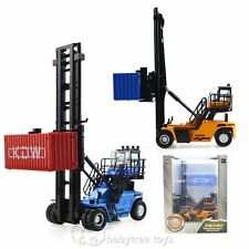 KDW 1:50 Scale Diecast Empty Container Stacker Forklift Truck Cars Model Toys