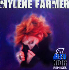 "12"" Maxi 45t Mylène FARMER Bleu noir REMIXES LTD ED"