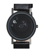 "Projects Watches ""33mm Reveal Watch"" Acciaio Quarzo Pelle Nero Donna Orologio"