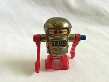 "Vintage 1979 Mini 2.25"" Tomy Walking Robot Wind Up Toy Taiwan"