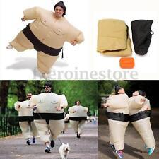 Inflable De Luchador De Sumo Ventilador Traje Disfraz Fiesta Juguete  Costume