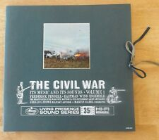 THE CIVIL WAR VOL 1 TAS MERCURY LIVING PRESENCE 2 LP COMPLETE TOP COPY