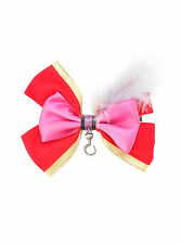 NEW Disney Peter Pan Captain Hook feather Cosplay Hair Bow Costume Dress Up Pin