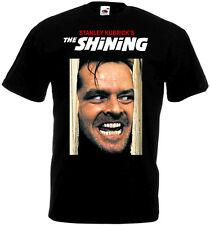 THE SHINING Movie Poster T shirt Black all sizes