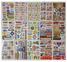 Set 15 sheet of ATV CAR HELMET MOTO-GP SCOOTER MX BIKE RACING Stickers #RC2CA