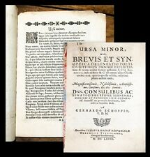 1668 Bern in der Schweiz Kriegsgeschichte Militär Schopp Gerhard Ursa minor