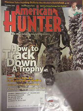 American Hunter Magazine December 2008 How to Track Down a Trophy Marines Take
