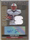 kolby smith rookie auto autograph jersey patch louisville cardinals college #/25