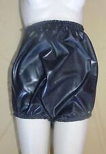 Pants Knickers Rubber Sissy Black XXL High Sides Panties Roleplay Silicone Latex