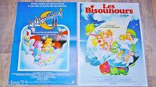 LES BISOUNOURS  1 et 2  ! affiche cinema animation bd dessin epoque casimir