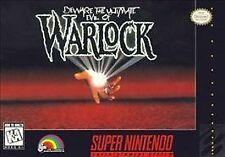 Warlock (Super Nintendo) SNES