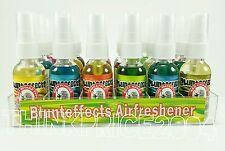 Blunteffects 100% Concentrated Air freshners Spray 18 count Display (USA SELLER)