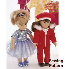 "Kwik Sew K2830 Pattern 18"" Dolls Clothes"