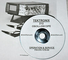 Tektronix 212 Oscilloscope (Early-Serial Numbers) Service  Manual