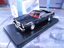 Ford Ranchero pick up pick-up negro us muscle car neo gama alta resine 1:43