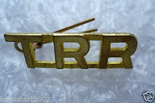 Three Rivers Regiment Canada Shoulder Title Badges, TRR Title Badge