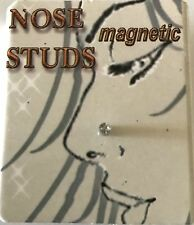 1.5mm Tinny Magnetic Nose, Ear, Tigrus, Stud Earring white color