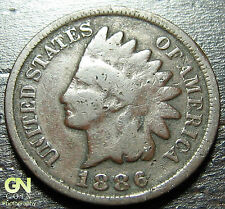 1886 Type 2 Indian Head Cent - Make Us An Offer! #O1031