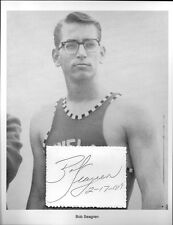 Bob Seagren Autograph World Record Pole Vaulter Olympic Champion #1