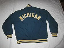 Awards USA Michigan Wolverine University College Jacket Mens Large Hip Hop