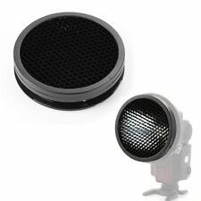 Universal Bayonet Mount Honeycomb Grid Spot Filter Diffuser for Speedlight Flash