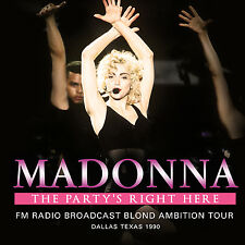 MADONNA New Sealed 2016 UNRELEASED 1990 DALLAS TEXAS LIVE CONCERT 2 CD SET