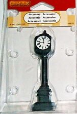 LEMAX  Christmas Village Accessories  STREET CLOCK #64129