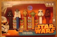 NEW 2015 EUROPEAN PEZ DISNEY STAR WARS GIFT BOX LIMITED EDITION