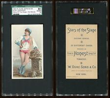 1891 N130 Stars of the Stage (2nd Series) Unknown Sub. SGC 80 EX/NM #8132126-009