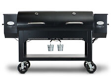 LOUISIANA GRILLS WHOLE HOG Barrel Wood Pellet Smoker BBQ Grill Slow Cook PIG