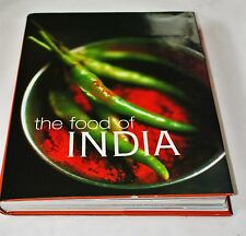 The Food of India Hardcover Recipes Spices Beautiful Illustrations Cookbook