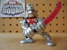 Marvel Super Hero Squad SILVER SAMURAI from Wave 15
