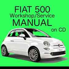 * Fiat 500 (2007 - 2015) Type 312 Workshop / Service / Repair Manual on CD