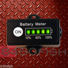 48 Volt Battery Meter, Voltage Indicator RECT