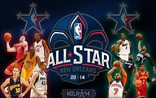 NBA All Star Game 2014 New Orleans 24x36 Glossy Photo Poster