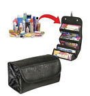 Women Multifunction Travel Cosmetic Bag Makeup Case Pouch Toiletry Organizer RD