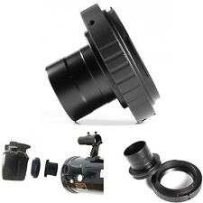 T2 Ring Lens Adapter + 1.25inch Telescope Mount Adapter For Canon EOS Camera
