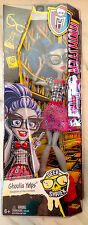 Monster High Wave 2 Geek Shriek Ghoulia Yelps Doll NIB RARE