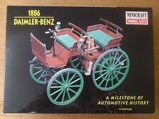1:16 Minicraft n. 11205 Daimler-Benz 1886 Automotive History. KIT. SCATOLA ORIGINALE
