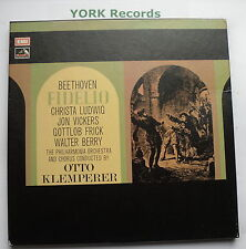 SLS 5006 - BEETHOVEN - Fidelio KLEMPERER Philharmonia O - Ex 3 LP Record Box Set