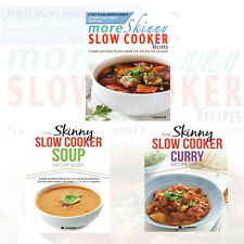 The Skinny Slow Cooker 3 Books Collection Set (More Skinny Slow Cooker Recipes)